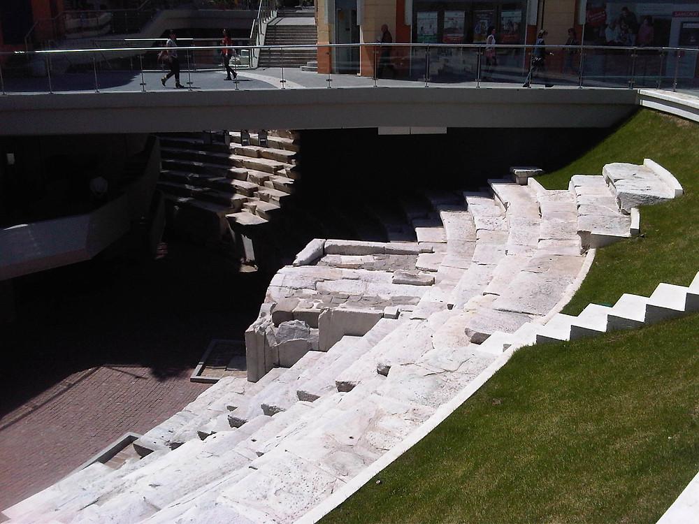 Amphitheater of Plovdiv (Philipopolis) in Bulgaria
