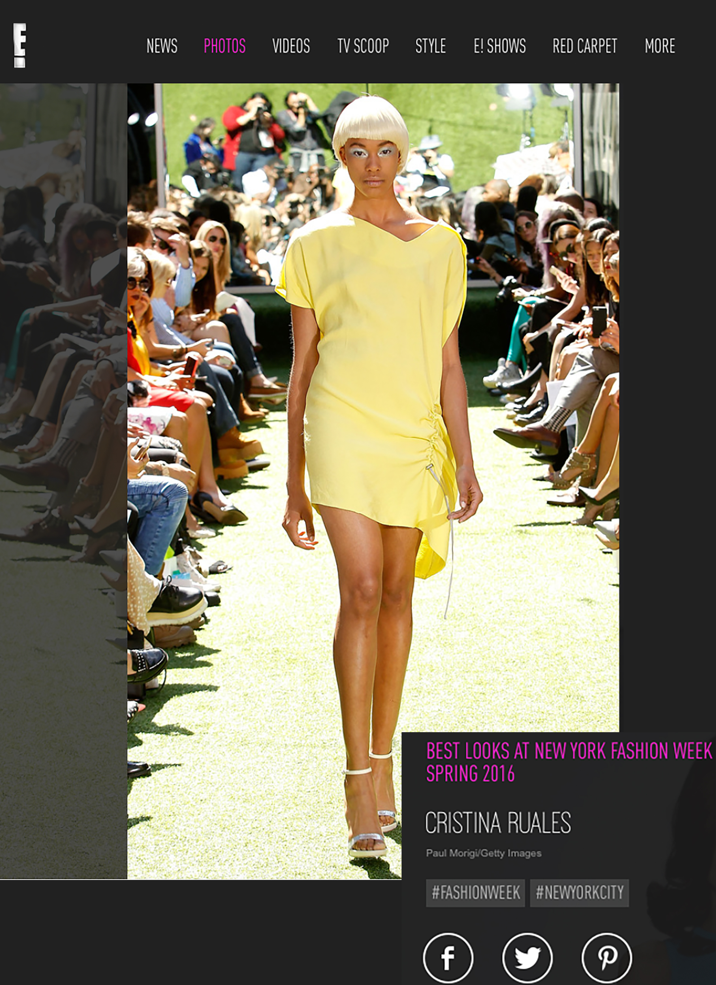 E! News: Best Looks at NYFW Spring 2