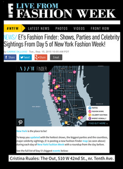 E! Online: Hottest shows of NYFW