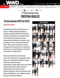 WWD: Fall 2016 Review