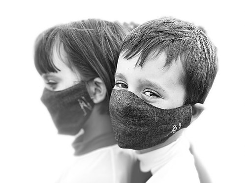 CR Antimicrobial Silver Lined Kid Mask