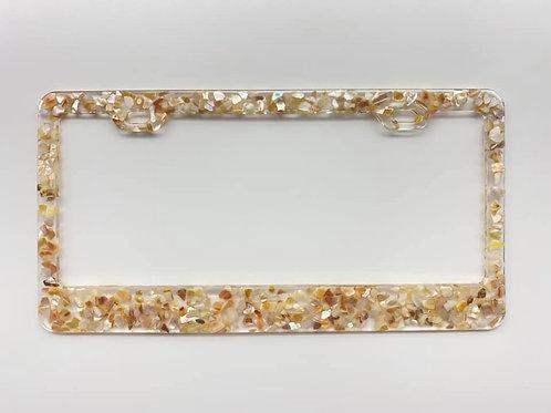 Sea Shell License Plate Frame