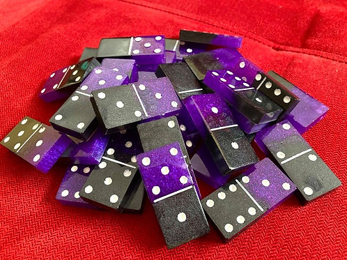 Resin Dominoes Set