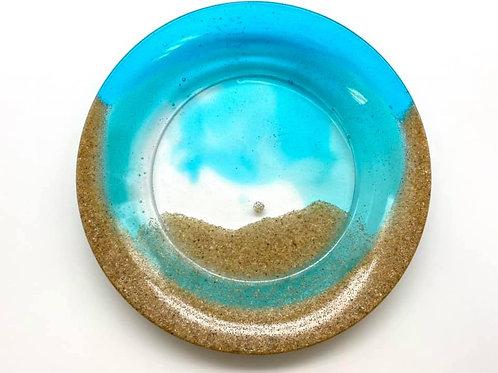 Beach Resin Plate