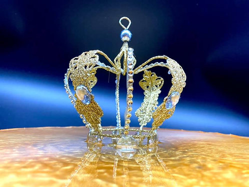 Golden Crown Resin Tray