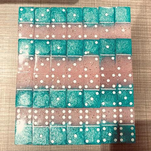 Resin Dominoes Set