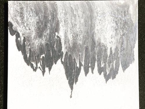 """""""Avalanche""""- 20"""" x 24"""" acrylic on canvas"""