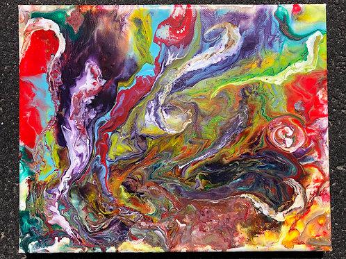 """""""Imagine"""" - 8"""" x 10"""" acrylic on canvas"""