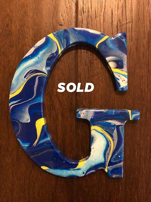 """SOLD.  """"G"""""""