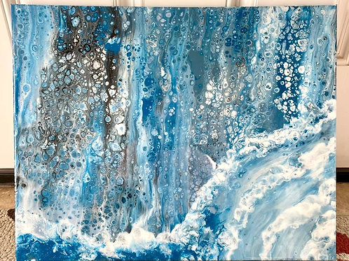 "SOLD.  ""Water Fall"""