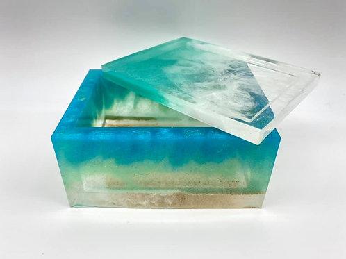 Beach Resin Box