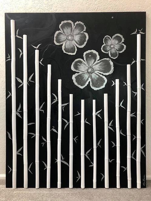 """SOLD. - """"Bamboo Garden"""""""