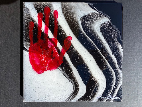 """SOLD.  """"Red Hand"""""""