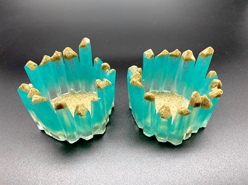 Resin Candle Holders