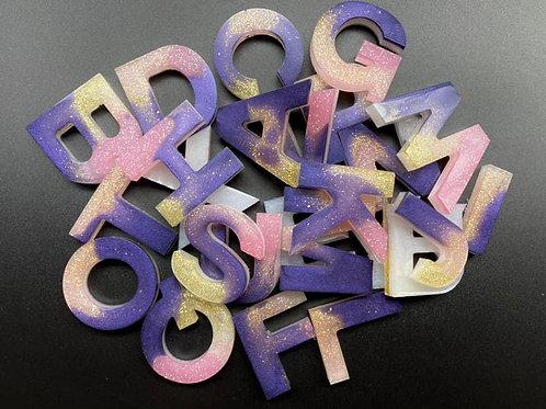 Alphabet Resin letters