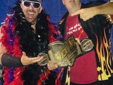 """""""The Show"""" Robby Starr Steals the New Ohio Wrestling Championship from """"Darkstar"""" Matt Taylor"""