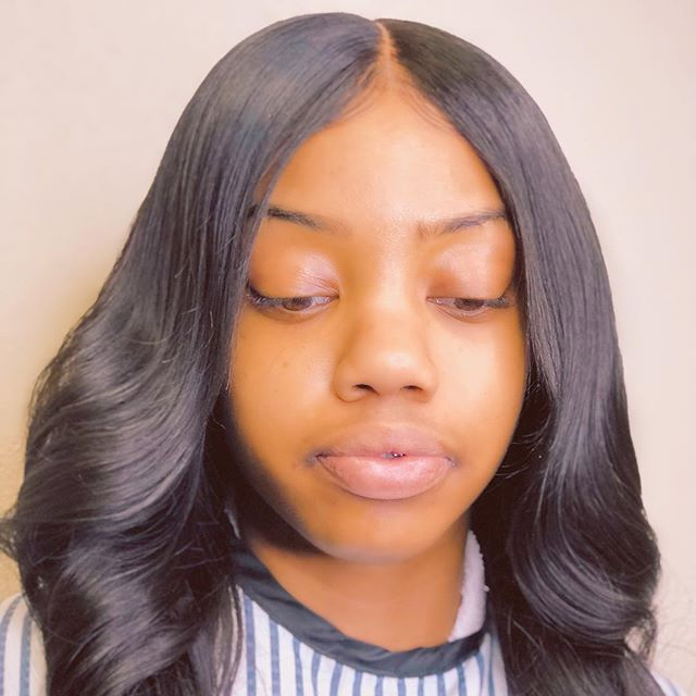 Lace closure Installation.