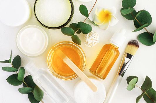 Natural cosmetics ingredients for skinca