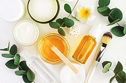Natural cosmetics ingredients for skinca