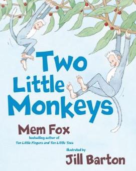 Episode 4: 'Two Little Monkeys' (Mem Fox) and 'Blue Chameleon' (Emily Gravett)