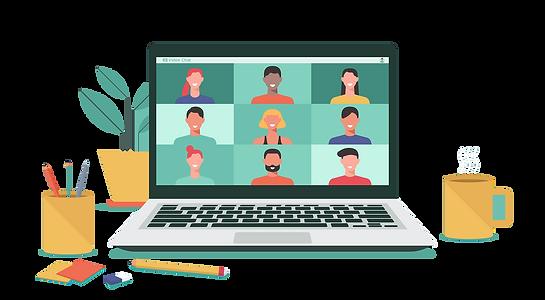 zoom web conference virtual meeting (shu