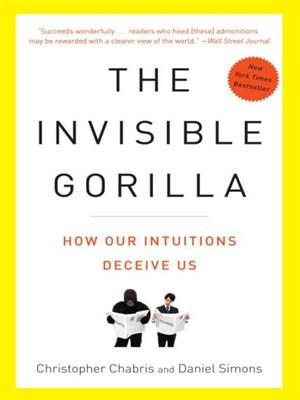 Invisible Gorilla book cover