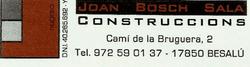 Contruccions Joan Bosch