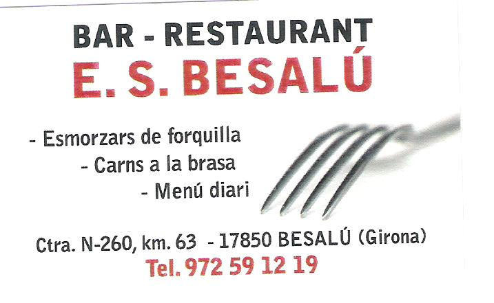 Bar Restaurant E.S. Besalú
