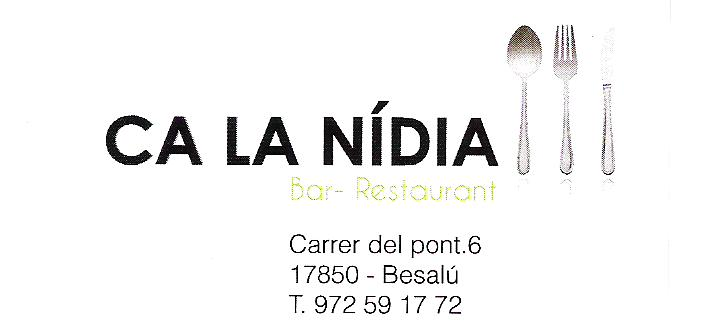Bar Restaurant Ca La Nídia