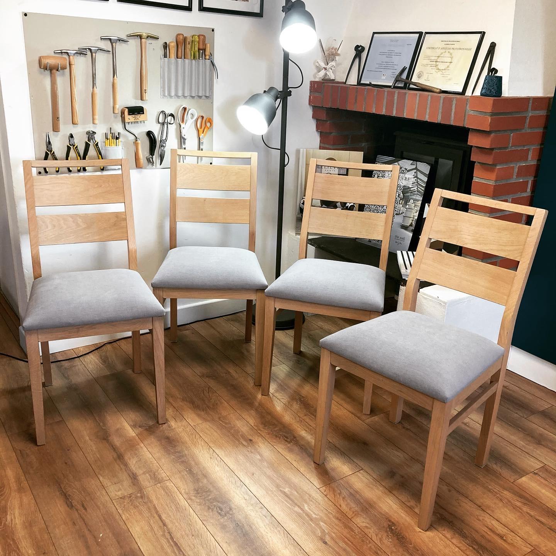 Réfection complète de galettes de chaises