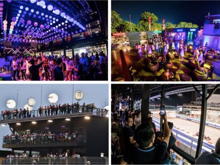 TWENTY3 : LIFESTYLE EXPERIENCES FORMULA 1 SINGAPORE AIRLINES SINGAPORE GRAND PRIX