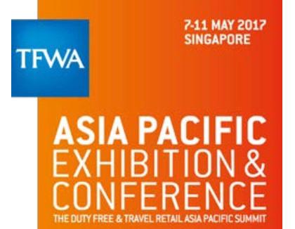 TFWA Asia Pacific Exhibition & Conference 2017