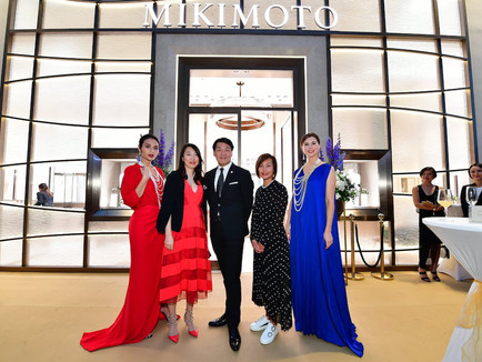 Mikimoto : Re-opening in Marina Bay Sands