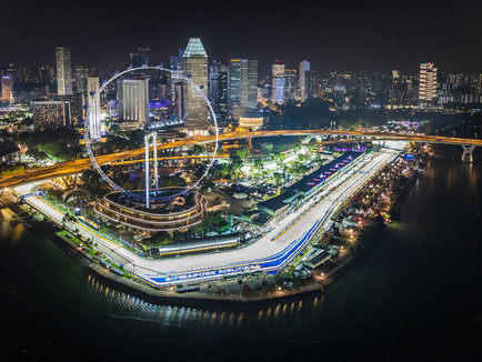 CANCELLATION :                                       F1 SINGAPORE GRAND PRIX 2020