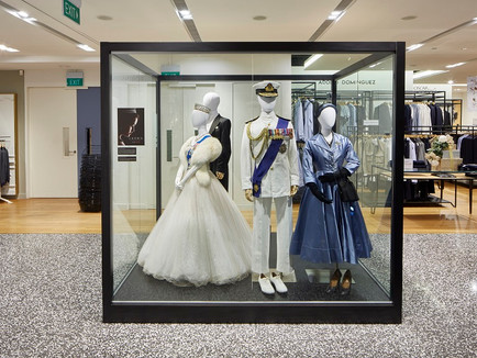WORLD'S FIRST SHOWCASE OF COSTUMES FROM NETFLIX ORIGINAL SERIES 'THE CROWN'