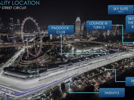Suite Experience                                         F1 2018 SINGAPORE GRAND PRIX