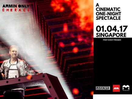 ARMIN ONLY EMBRACE SINGAPORE