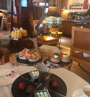 Conrad Lobby Lounge Afternoon Tea