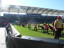 CJSO PLAYERS AT HOME DEPOT CENTER