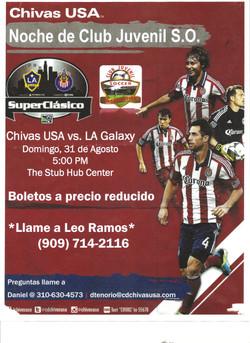 CJSO AND CHIVAS USA PARTNERSHIP