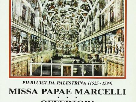VATICAN CITY: Missa Papae Marcelli - Coro della Cappella Sistina