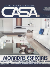Nosso projeto - Espaço do Surfista - em destaque nesta edição da revista Casa.