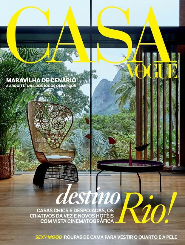 Residência AI - GH. Veja nosso decor nesta edição da Casa Vogue.