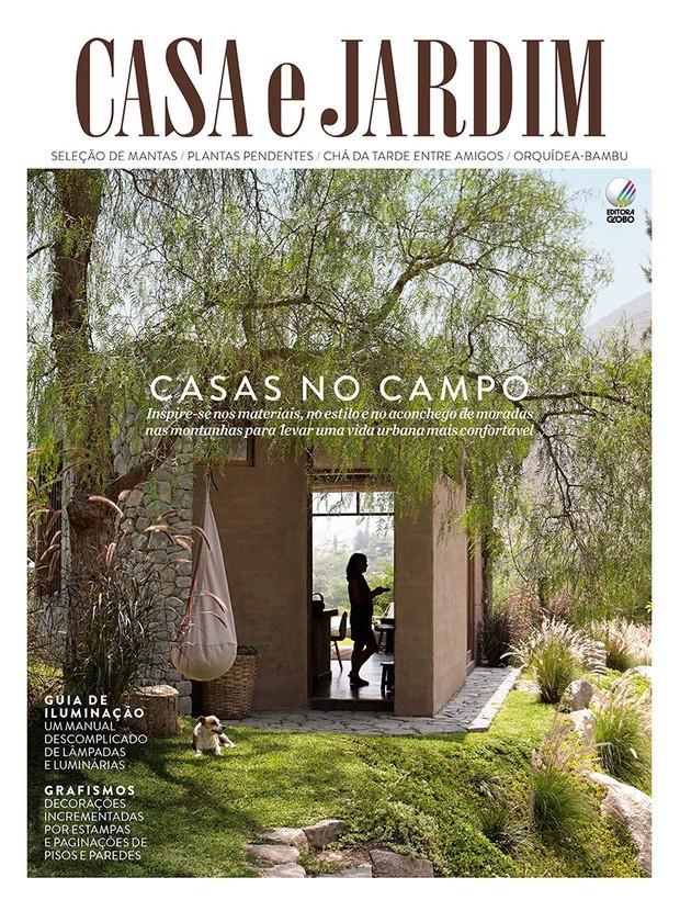 Residência IDT. Veja nosso decor nesta edição da Casa e Jardim.