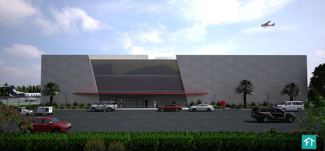 Hangar - Aeroporto do Galeão (Tom Jobim) - Rio de Janeiro/RJ