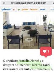 Tudo Azul! Projeto assinado pelo nosso studio em destaque no portal globo.com
