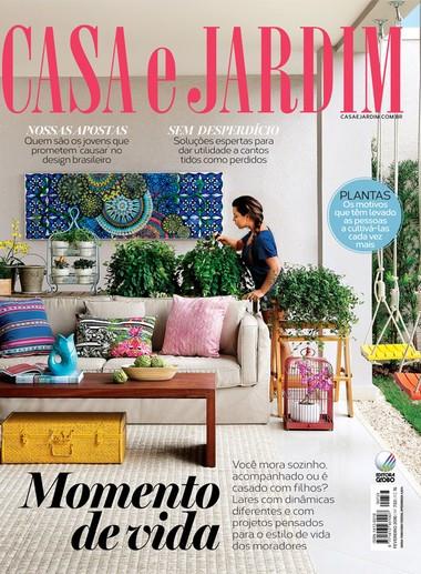 Projeto do nosso studio Café MSP no Jardins em destaque nesta edição da revista Casa e Jardim.