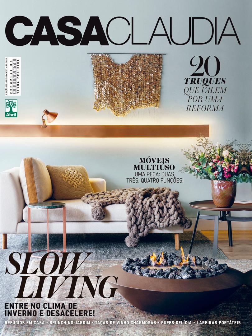 Residência AI - GH. Veja nosso decor nesta edição da Casa Claudia.