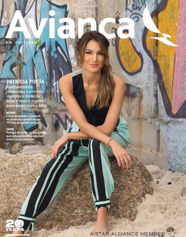Nosso arquiteto, Franklin Fioroti, participa de edição especial Patrícia Poeta - Avianca em Revista
