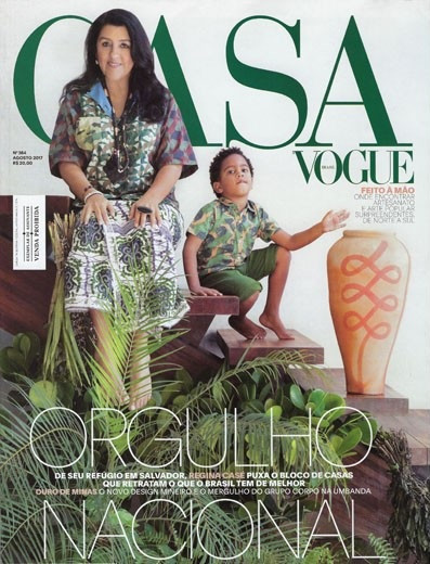 Nosso projeto Lounge Contemporâneo em destaque nesta edição da revista Casa Vogue.